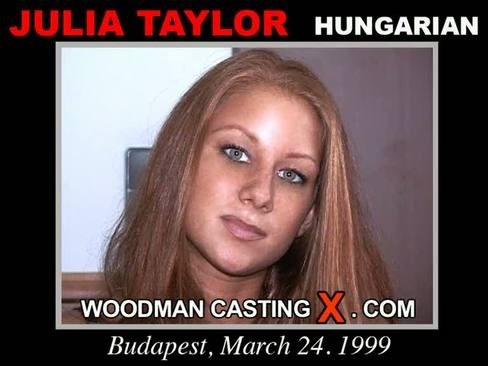Julia Taylor - `Julia Taylor casting` - by Pierre Woodman for WOODMANCASTINGX