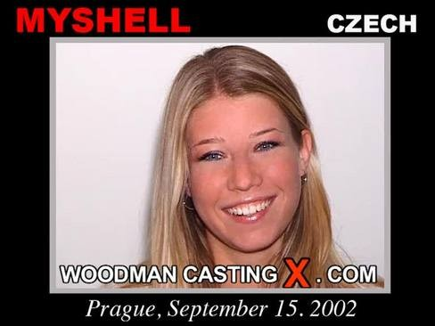 Myshell - `Myshell casting` - by Pierre Woodman for WOODMANCASTINGX