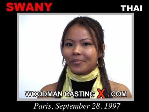 Swany - `Swany casting` - by Pierre Woodman for WOODMANCASTINGX