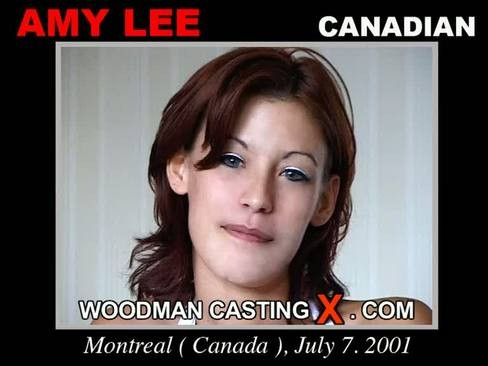 Amy Lee - `Amy Lee casting` - by Pierre Woodman for WOODMANCASTINGX