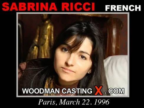 Sabrina Ricci - `Sabrina Ricci casting` - by Pierre Woodman for WOODMANCASTINGX