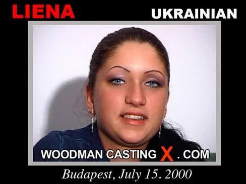 Liena - `Liena casting` - by Pierre Woodman for WOODMANCASTINGX