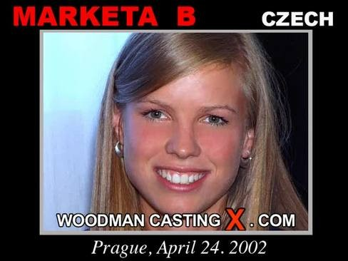 Marketa B - `Marketa B casting` - by Pierre Woodman for WOODMANCASTINGX