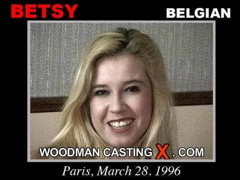 Betsy - `Betsy casting` - by Pierre Woodman for WOODMANCASTINGX
