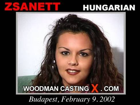Zsanett - `Zsanett casting` - by Pierre Woodman for WOODMANCASTINGX