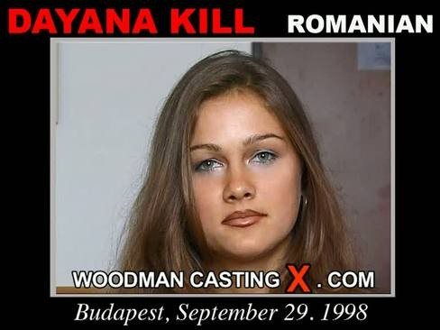 Dayana Kill - `Dayana Kill casting` - by Pierre Woodman for WOODMANCASTINGX
