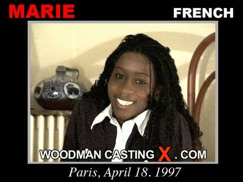 Marie - `Marie casting` - by Pierre Woodman for WOODMANCASTINGX