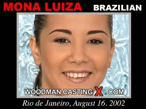 Mona Luiza - `Mona Luiza casting` - by Pierre Woodman for WOODMANCASTINGX