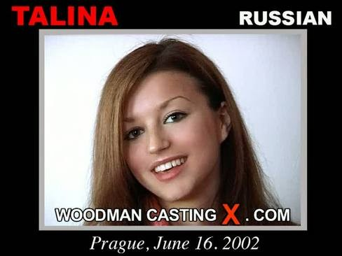 Talina - `Talina casting` - by Pierre Woodman for WOODMANCASTINGX