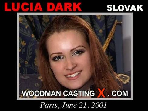 Lucia Dark - `Lucia Dark casting` - by Pierre Woodman for WOODMANCASTINGX