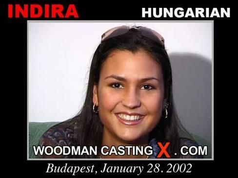 Indira - `Indira casting` - by Pierre Woodman for WOODMANCASTINGX