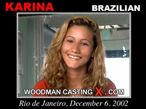 Karina - `Karina casting` - by Pierre Woodman for WOODMANCASTINGX