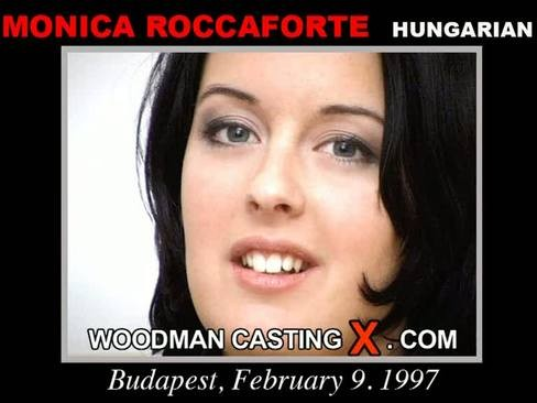Monica Roccaforte - `Monica Roccaforte casting` - by Pierre Woodman for WOODMANCASTINGX