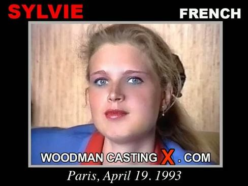 Sylvie - `Sylvie casting` - by Pierre Woodman for WOODMANCASTINGX
