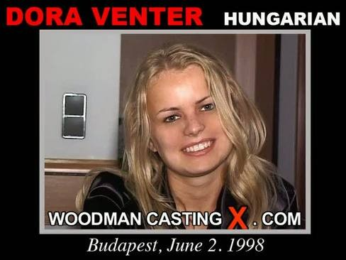 Dora Venter - `Dora Venter casting` - by Pierre Woodman for WOODMANCASTINGX