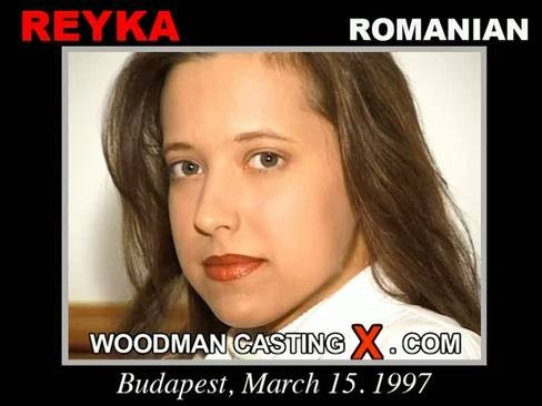 Reyka - `Reyka casting` - by Pierre Woodman for WOODMANCASTINGX