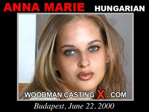 Anna Marie - `Anna Marie casting` - by Pierre Woodman for WOODMANCASTINGX