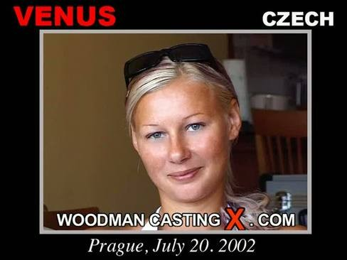 Venus - `Venus casting` - by Pierre Woodman for WOODMANCASTINGX