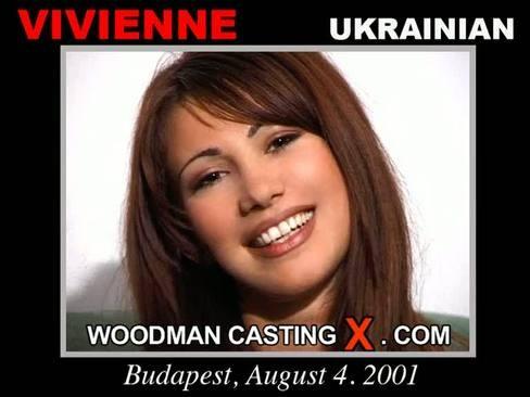 Vivienne - `Vivienne casting` - by Pierre Woodman for WOODMANCASTINGX