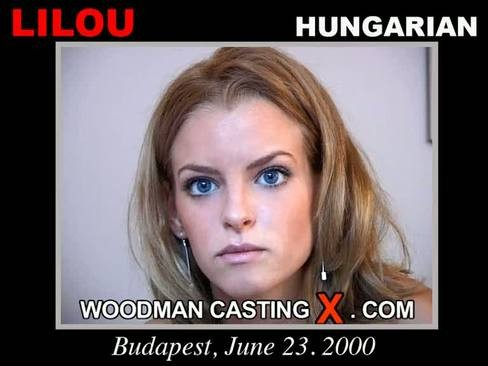 Lilou - `Lilou casting` - by Pierre Woodman for WOODMANCASTINGX