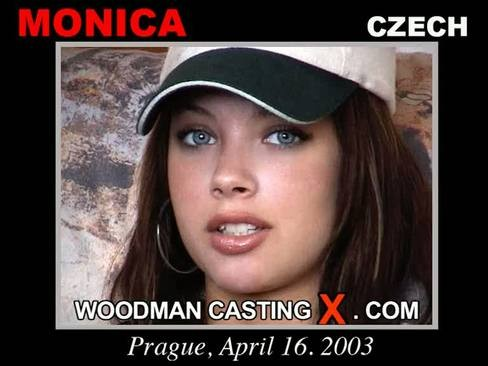 Monica - `Monica casting` - by Pierre Woodman for WOODMANCASTINGX