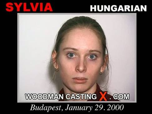 Sylvia - `Sylvia casting` - by Pierre Woodman for WOODMANCASTINGX