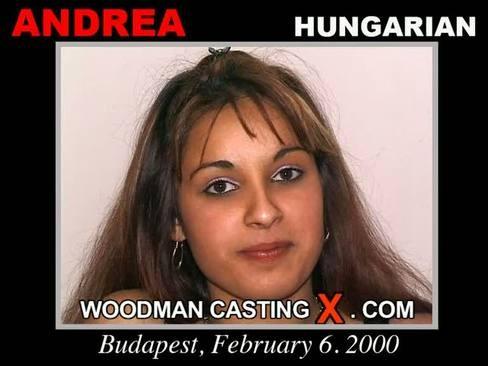 Andrea - `Andrea casting` - by Pierre Woodman for WOODMANCASTINGX