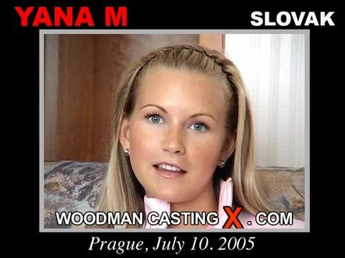 Yana M - `Yana M casting` - by Pierre Woodman for WOODMANCASTINGX
