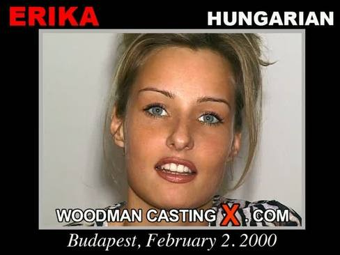 Erika - `Erika casting` - by Pierre Woodman for WOODMANCASTINGX