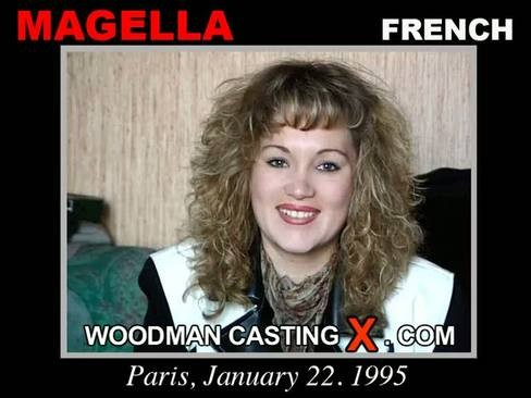 Magella - `Magella casting` - by Pierre Woodman for WOODMANCASTINGX