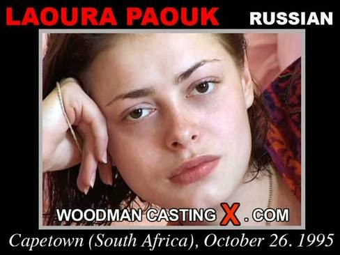 Laoura Paouk - `Laoura Paouk casting` - by Pierre Woodman for WOODMANCASTINGX