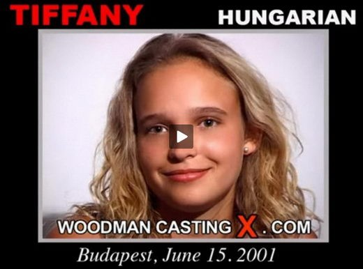 Tiffany - `Tiffany casting` - by Pierre Woodman for WOODMANCASTINGX