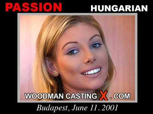 Passion - `Passion casting` - by Pierre Woodman for WOODMANCASTINGX