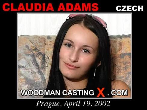 Claudia Adams - `Claudia Adams casting` - by Pierre Woodman for WOODMANCASTINGX