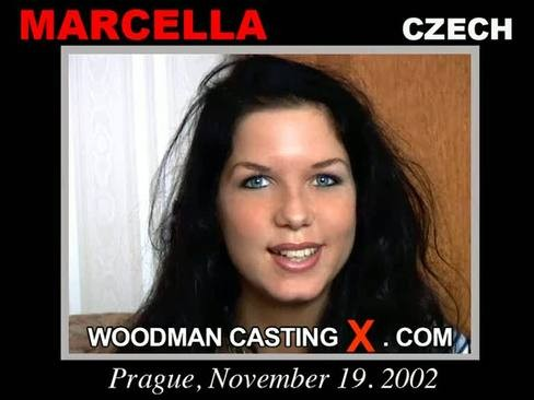 Marcella - `Marcella casting` - by Pierre Woodman for WOODMANCASTINGX