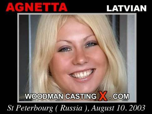 Agnetta - `Agnetta casting` - by Pierre Woodman for WOODMANCASTINGX