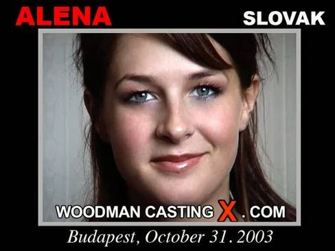 Alena - `Alena casting` - by Pierre Woodman for WOODMANCASTINGX