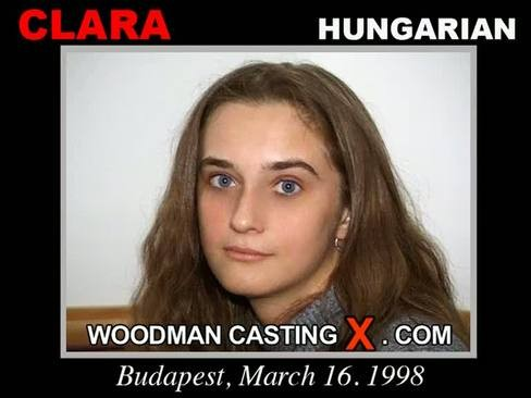 Clara - `Clara casting` - by Pierre Woodman for WOODMANCASTINGX