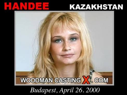 Handee - `Handee casting` - by Pierre Woodman for WOODMANCASTINGX