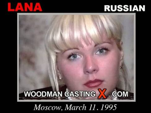 Lana - `Lana casting` - by Pierre Woodman for WOODMANCASTINGX