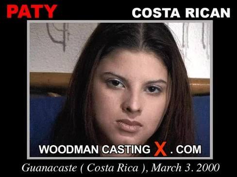 Paty - `Paty casting` - by Pierre Woodman for WOODMANCASTINGX
