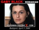 Gaby Black casting