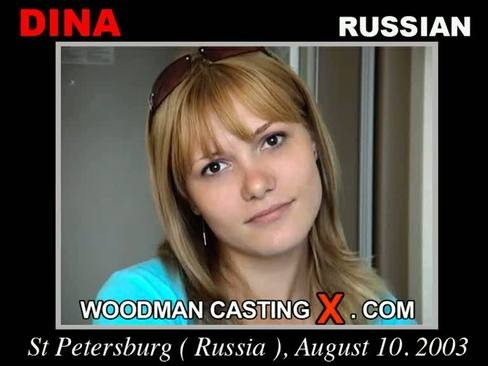 Dina - `Dina casting` - by Pierre Woodman for WOODMANCASTINGX