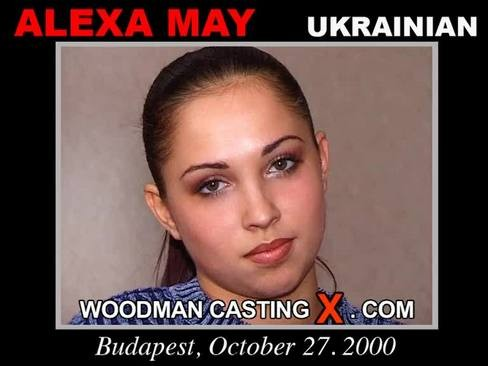 Alexa May - `Alexa May casting` - by Pierre Woodman for WOODMANCASTINGX