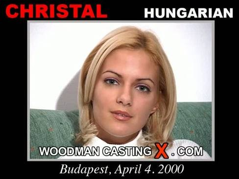 Christal - `Christal casting` - by Pierre Woodman for WOODMANCASTINGX