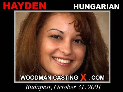 Hayden - `Hayden casting` - by Pierre Woodman for WOODMANCASTINGX