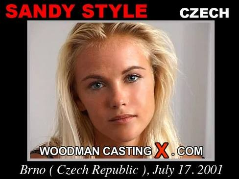 Sandy Style - `Sandy Style casting` - by Pierre Woodman for WOODMANCASTINGX