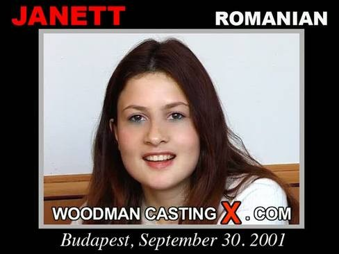 Janett - `Janett casting` - by Pierre Woodman for WOODMANCASTINGX