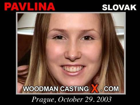 Pavlina - `Pavlina casting` - by Pierre Woodman for WOODMANCASTINGX