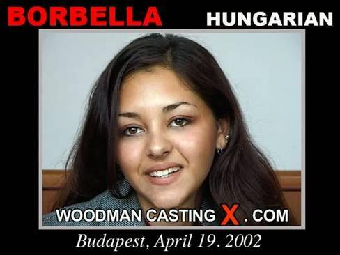 Borbella - `Borbella casting` - by Pierre Woodman for WOODMANCASTINGX